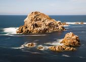 Small Islands In Galician Coast, Spain