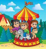 Carousel theme image 2 - eps10 vector illustration.