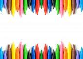 Wax Crayons Frame