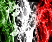 Abstract Italian Flag