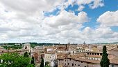 Beautiful View Of Rome From The Campidoglio