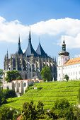 Cathedral of St. Barbara and Jesuit College, Kutna Hora, Czech Republic