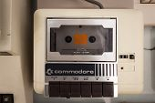 Commodore Cassette Player At Robot And Makers Show