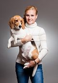 Cute Beagle.