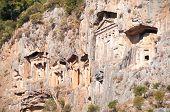 Turkish  Lycian Tombs