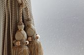 picture of lace-curtain  - Luxury curtain and tassel for any use - JPG
