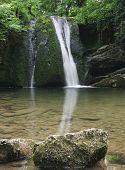 Waterfall In Malhamdale,Janets Foss