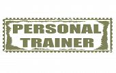 Personal Trainer Stamp