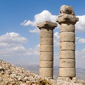 Nemrut mount, Turkey - Ancient reminiscents representing the gods of the Kommagene kingdom