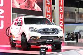 Nonthaburi - March 25: Isuzu Mu-x Car On Display At The 35Th Bangkok International Motor Show On Mar