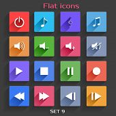 Flat Application Icons Set 9