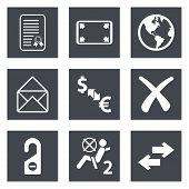 Icons for Web Design set 32