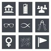 Icons for Web Design set 33