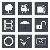 Icons for Web Design set 44