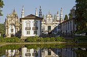 stock photo of masterpiece  - Casa de Mateus is masterpiece of Portuguese Baroque architecture - JPG