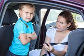 Child Refusing To Seat Into Infant Car Safety Seat