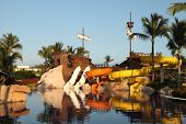 Kids Water Park With Water Slides In Dominican Republic, Punta Cana