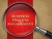 Business Process Management - Magnifying Glass.