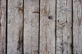 Texture Of Old Wooden Slats