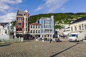 Vagsallmenningen At Bergen
