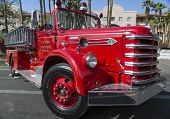 Historic Old Fire Engine from Tempe Arizona