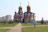 Temple of St. Seraphim of Sarov. Zelenogorsk