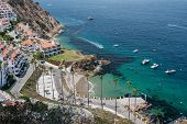 Aerial View Of Catalina Island Resort