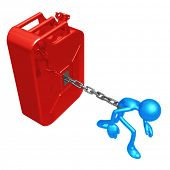 Chained To Gasoline Can
