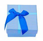Blue Gift Box.