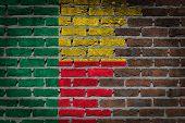 Dark Brick Wall - Benin