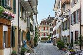 Street In Murten,,switzerland