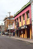 Mariscal Foch Street in Quito, Ecuador