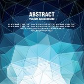 Abstract vector modern background