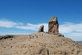 picture of deportation  - Monumento of rock in Gran Canaria  - JPG
