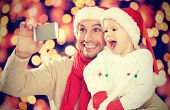 foto of daddy  - selfe in Christmas - JPG