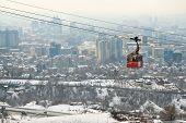 Funicular In Almaty, Kazakhstan