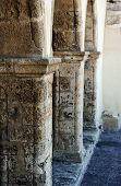 Columns in church