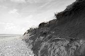 Damaged Dunes After The Big Storm