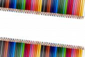 Colorful Pencil Frame 04