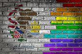 Dark Brick Wall - Lgbt Rights - Illinois