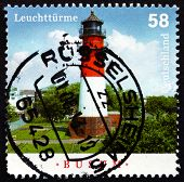 Postage Stamp Germany 2013 Busum, Lighthouse