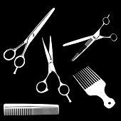 Scissors Adnd Combs