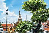 Bangkok Grand Kings Palace Ancient Temple In Thailand.