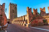 Castelvecchio in Verona, Northern Italy