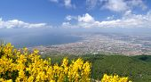 Breathtaking picturesque landscape of Naples and Gulf of Naples, Italy