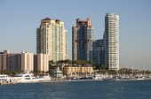 Miami Beach Marina. Florida, Usa