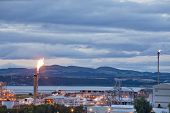 Grangemouth Oil Refinery Complex