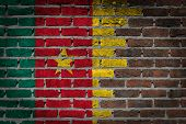 Dark Brick Wall - Cameroon