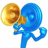 Speaker Head With Megaphone
