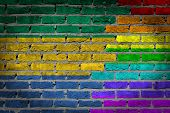 Dark Brick Wall - Lgbt Rights - Gabon